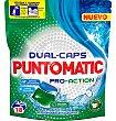 Detergente dual-caps pro-action 18 dosis Puntomatic
