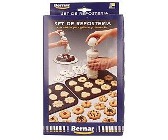 BERNAR Set de repostería con moldes para galletas y decoración 1 unidad