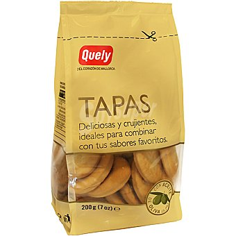 QUELY Tapas Mini crackers de trigo Bolsa 250 g