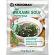Sopa miso con alga wakame instantánea Sobre 18 g Kikkoman