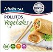 Rollitos vegetales  Caja 200 g (4 uds) Maheso