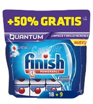 FINISH CALGONIT Lavavajillas máquina quantum 18 pastillas