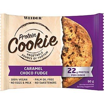 Weider American cookie de proteínas sabor caramelo y chocolate Envase 90 g