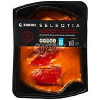 Eroski Seleqtia Pimientos rellenos de bacalao Eroski Bandeja 300 g