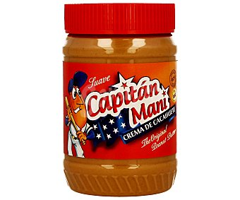 Capitán Maní Crema suave de cacahuete 510 g