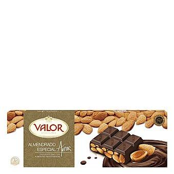 Valor Chocolate puro con almendras mediterráneas 500 g