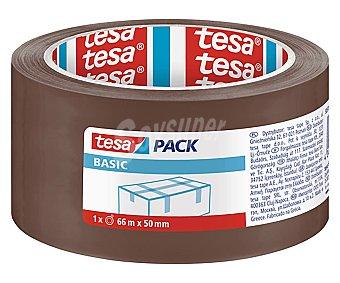 Tesa Cinta adhesiva de color marron, TESA.