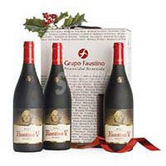 Faustino V Vino Tinto Reserva Rioja Pack 3x75 cl