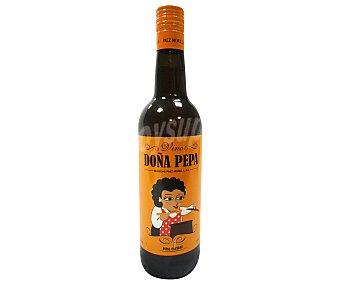 DOÑA PEPA Vino especial para cocinar Botella de 75 centilitros