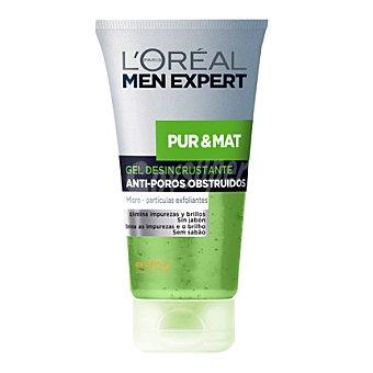 Men Expert L'Oréal Paris Gel exfoliante Pure & Mat 150 ml