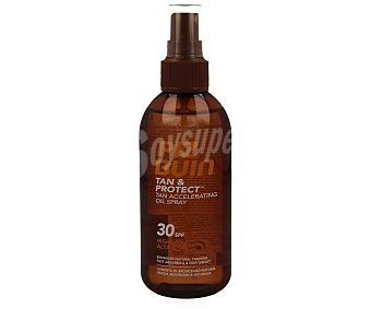 Piz buin Aceite en spray acelerador del bronceado con factor protección solar 30 150 mililitros