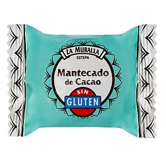 La Muralla Mantecado de cacao sin gluten La Muralla 37 g aprox