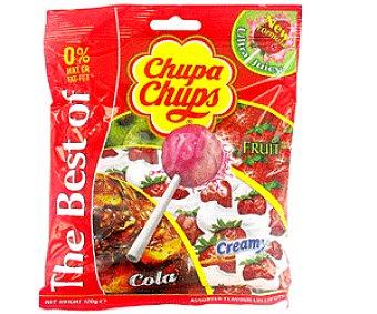 Chupa Chups Caramelo Con Palo de Sabores 10 uds