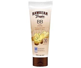 Hawaiian Tropic Protector facial con textura BB cream y factor de protección 30 (medio) 150 ml