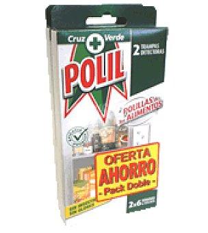Polil Raid Trampa polillas alimentos duplo 1 ud