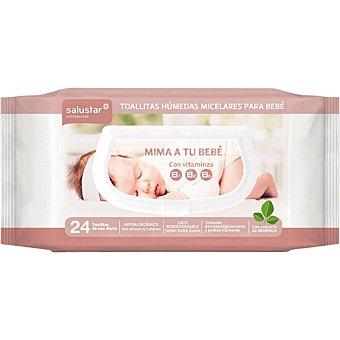 Salustar Toallitas húmedas micelares para bebé paquete 24 unidades paquete 24 unidades