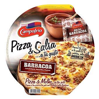 Campofrío Pizza de carne con salsa barbacoa 400 g