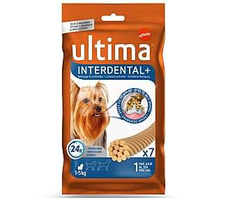 Ultima Affinity Snack interdental para perro mini Toy Paquete 70 g
