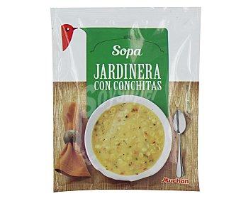Auchan Sopa jardinera con conchitas 85 gramos