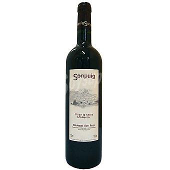 SONPUIG Estui Vino tinto 4 meses en barrica vino de la Tierra de Mallorca botella 75 cl Botella 75 cl