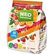 Caramelos de gelatina sabor fresa y naranja sin azúcar, sin gluten y sin aceite de palma botanica Bolsa 200 g Neo