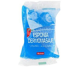 Auchan Esponja Dermomasaje 1 Unidad