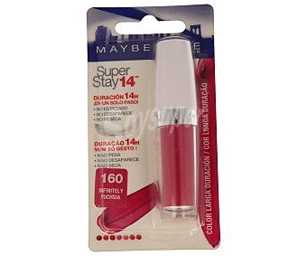 Maybelline New York Labios 14H Superstay 160 Pack 1 unid