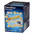 Palomitas saladas para microondas Pack de 6 bolsas de 100 g Carrefour