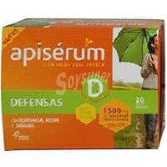 Apiserum Jalea real defensas 1500 mg Caja 20 unid