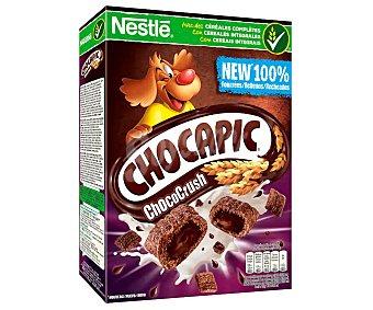 Chocapic Nestlé Cereales de chocolate relleno de chocolate chococrush Caja 410 g