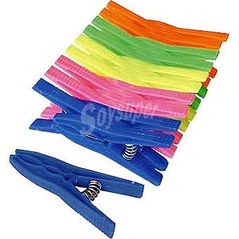 MAURIS Pinzas para la ropa de plástico Paquete 20 unidades