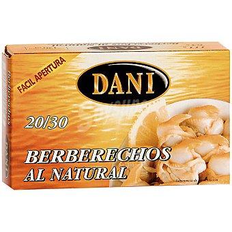 Dani Serie Oro Berberechos al natural 20-30 piezas Lata 63 g