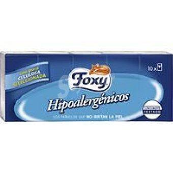 Foxy Pañuelos hipoalergénicos Paquete 10 unid