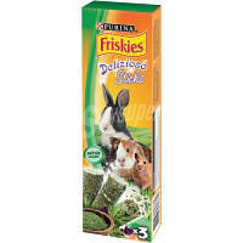 Friskies Purina Barritas de alfalfa para roedores Paquete 30 g