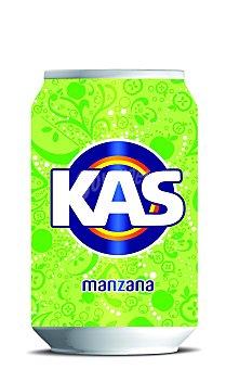 Kas Refresco de manzana Lata 33 cl