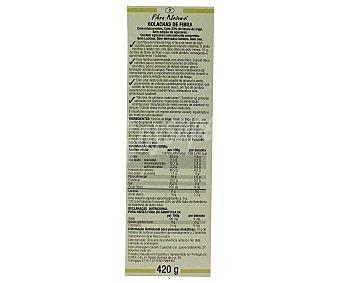 SANTIVERI Galletas de Fibra Naturales 420 Gramos