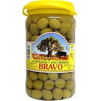 Bravo Aceitunas sabor manzan.-anchoa con hueso Tarro 900 g