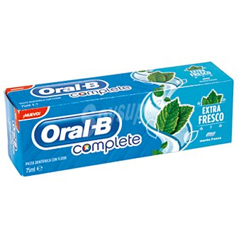 Oral-B Dentífrico complete extrafresco Tubo 75 ml