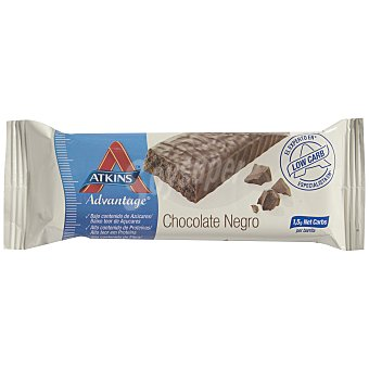 Atkins Barrita crunch chocolate negro 60 g