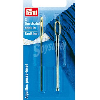 PRYM Estuche 2 agujas especiales para cuero