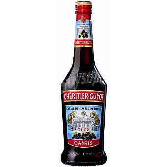 L'HERITIER-GUYOT Crema de cassis Botella 70 cl