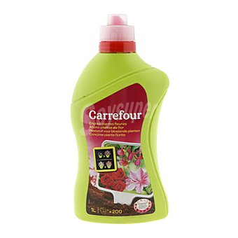 Carrefour Fertilizante líquido planta con flor 1 l