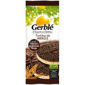 Gerblé Tortitas de arroz con chocolate negro Paquete 95 g