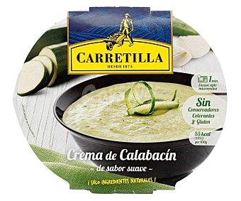 Carretilla Crema campestre de calabacín, sólo ingredientes naturales 350 g