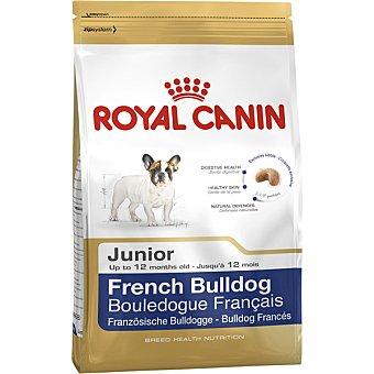 Royal Canin French bulldog junior pienso para perros cachorros -12 meses de raza Bulldog Francés bolsa 3 kg Bolsa 3 kg