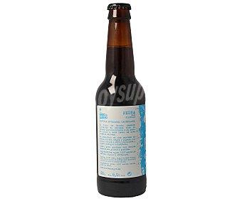 Burro de Sancho Cerveza negra artesanal castellana de tipo ale filtrada Botella de 33 centilitros