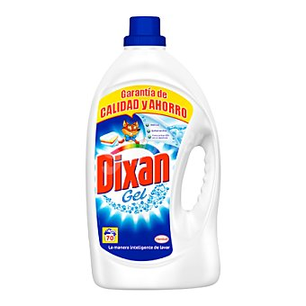 Dixan Detergente ropa líquido para máquina 70 lavados