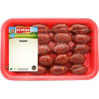 El Chico Chorizo especial para pinchito sin gluten Bandeja 300 g