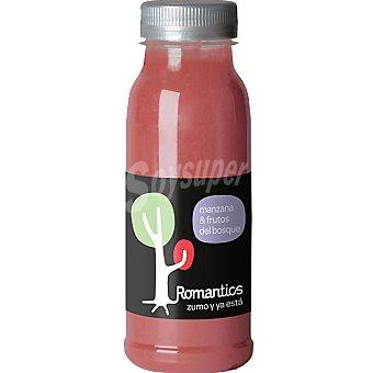 ROMANTICS Zumo recién exprimido de manzana y frutos del bosque Botella 250 ml