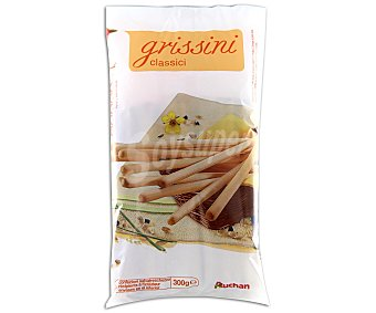 Auchan Palitos de pan crujiente con margarina vegetal 300 gramos